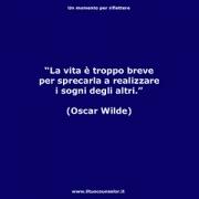 """La vita è troppo breve per sprecarla a realizzare i sogni degli altri (Oscar Wilde) • <a style=""""font-size:0.8em;"""" href=""""http://www.flickr.com/photos/158938934@N02/37351675374/"""" target=""""_blank"""">View on Flickr</a>"""