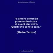 "L'amore comincia prendendosi cura di quelli più vicini. Quelli che sono a casa. (Madre Teresa) • <a style=""font-size:0.8em;"" href=""http://www.flickr.com/photos/158938934@N02/38030036842/"" target=""_blank"">View on Flickr</a>"