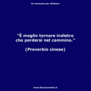 """E meglio tornare indietro che perdersi nel cammino. (Proverbio cinese) • <a style=""""font-size:0.8em;"""" href=""""http://www.flickr.com/photos/158938934@N02/37020776764/"""" target=""""_blank"""">View on Flickr</a>"""