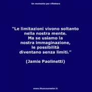 """Le limitazioni vivono soltanto nella vostra mente. Ma se usiamo l'immaginazione le possibilità diventano senza limiti (Jamie Paolinetti) • <a style=""""font-size:0.8em;"""" href=""""http://www.flickr.com/photos/158938934@N02/26284675919/"""" target=""""_blank"""">View on Flickr</a>"""