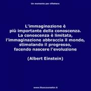 """L'immaginazione è più importante della conoscenza. La conoscenza è limitata, l'immaginazione abbraccia il mondo, stimolando il,progresso facendo nascere l'evoluzione. (Albert Einstein) • <a style=""""font-size:0.8em;"""" href=""""http://www.flickr.com/photos/158938934@N02/38030036162/"""" target=""""_blank"""">View on Flickr</a>"""