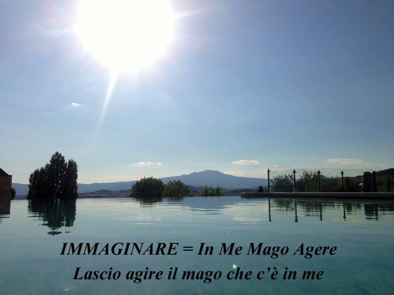 Immaginare = In me mago agere (Lascio agire il mago che c'è in me)