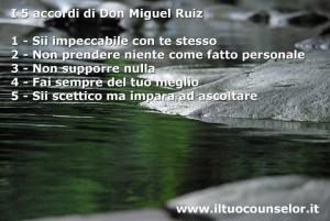 Riepilogo I 5 Accordi (Don Miguel Ruiz)
