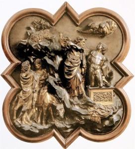 Lorenzo Ghiberti - Sacrificio di Isacco