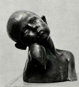 "Constantin Brancusi - ""Tormento II"" 1907"