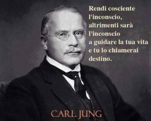 """""""Rendi cosciente l'inconscio, altrimenti sarà l'inconscio a guidare la tua vita e tu lo chiamerai destino."""" (Carl Jung)"""