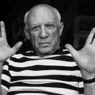"""Pablo Picasso – """"Donna con la carrozzina (La femme à la poussette)"""""""