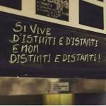 Si vive d'istinti e d'istanti e non distinti e distanti