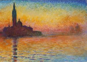 Claude Monet - San Giorgio Maggiore al crepuscolo (1908)