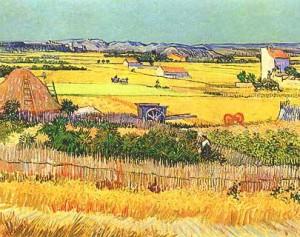 Vincent van Gogh - La mietitura
