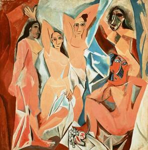 Pablo Picasso – Les Demoiselles d'Avignon