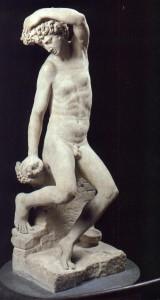 Benvenuto Cellini, Narciso, scultura
