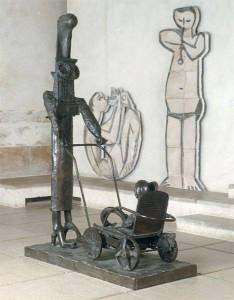Pablo Picasso, Donna con la carrozzina