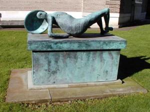 Henry Moore - Guerriero morente