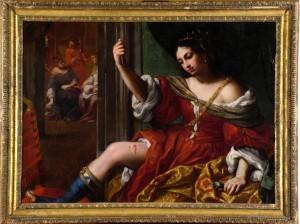 """Elisabetta Sirani - """"Portia che si ferisce alla coscia"""""""