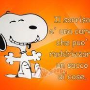 """""""Il sorriso è una curva che può raddrizzare un sacco di cose"""""""
