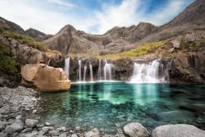 Fairy Pools nell'Isola di Skye - Scozia