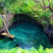 Tra i luoghi più belli al mondo… To Sua, Il Grande Buco Blu di Samoa – (Upolu Island, Samoa)