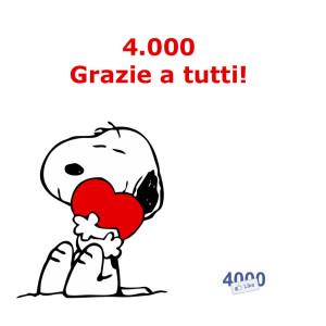 4000 Like su Facebook